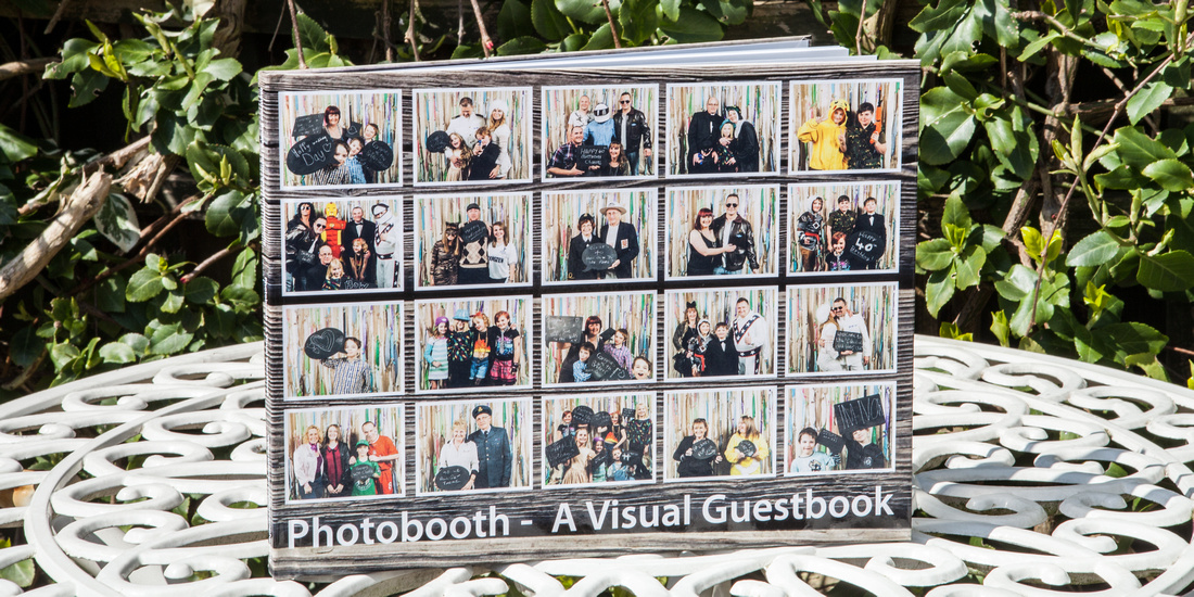 photobooth, visual guestbook, bespoke, hardback, wedding photography, event,
