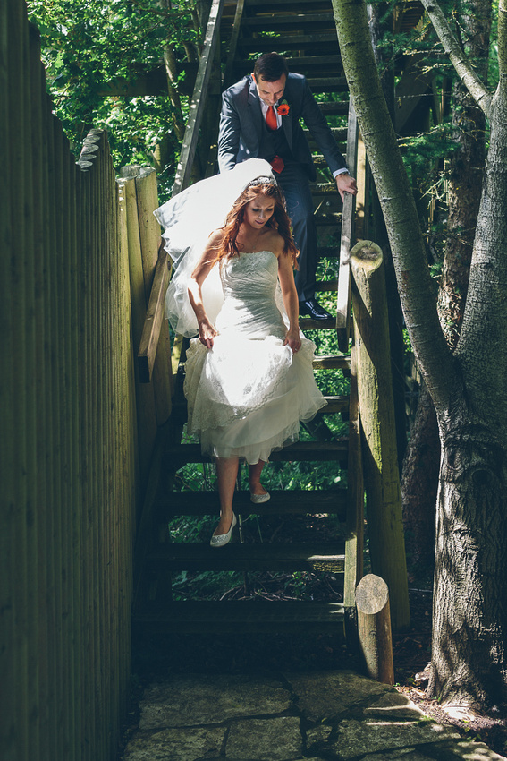Wedding, Monkeyworld, Poole, Dorset,