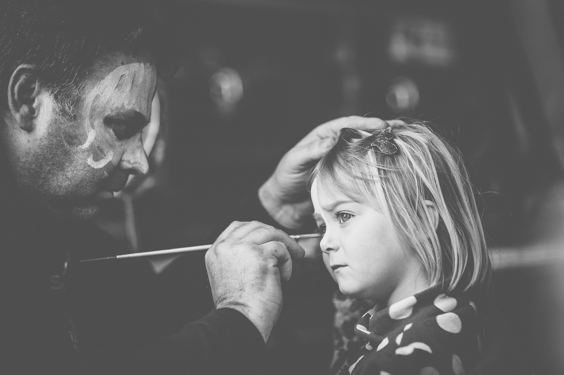 rathergood photography, face painting