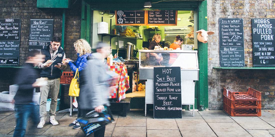 borough market photography couple food