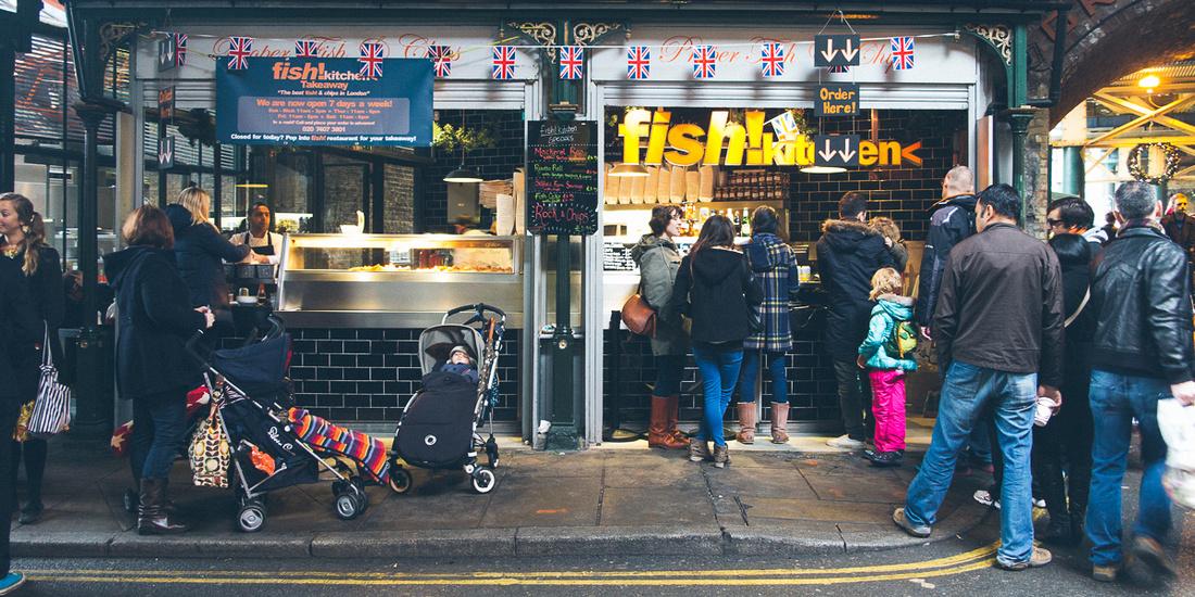 borough market london food photography