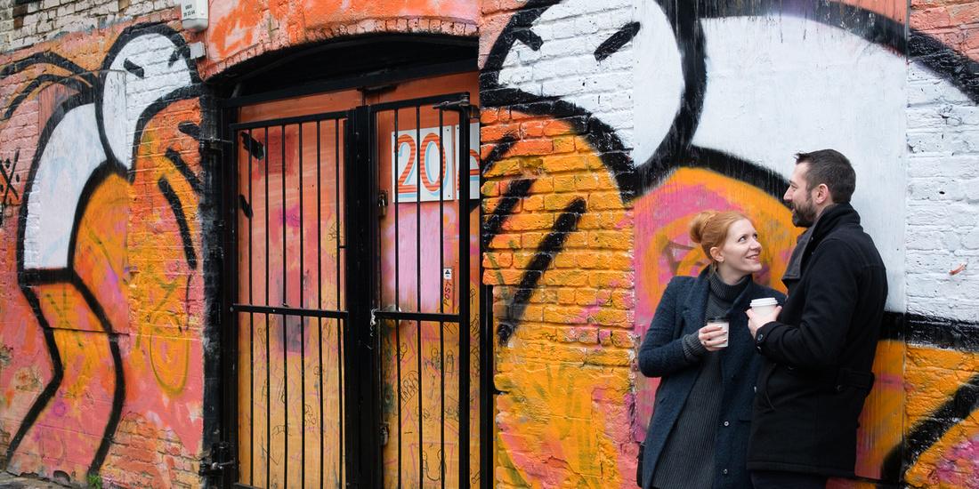 Shoreditch London Engagement Shoot