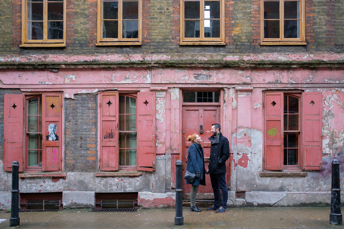 Shoreditch London Engagement Shoot